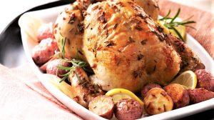 Pollo al horno fácil de realizar