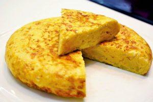 Tortilla de patata Thermomix